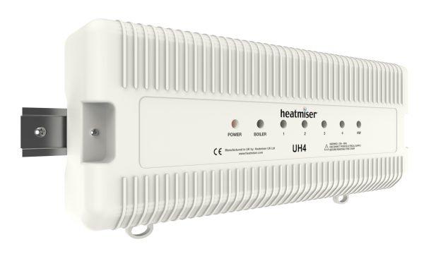 Heatmiser UH4 Underfloor Heating 4 way Wiring Centre