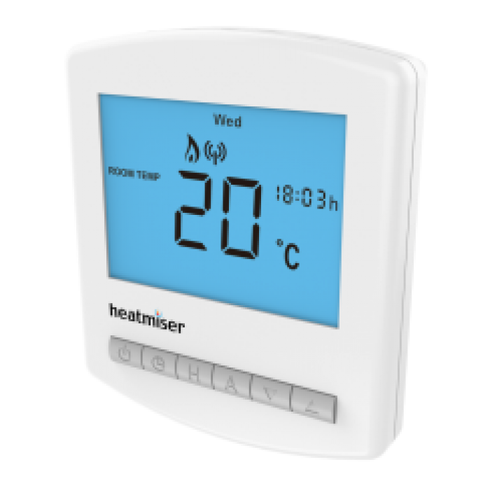 Heatmiser Slimline RF Kit Wireless Thermostat & Receiver