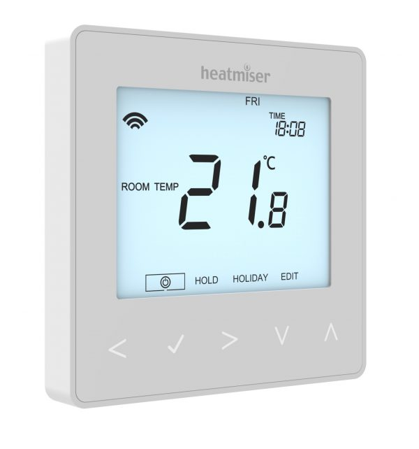 Heatmiser neoStat HW hot water thermostat for underfloor heating systems