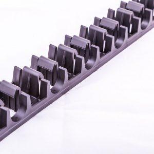 Underfloor heating fixing rails