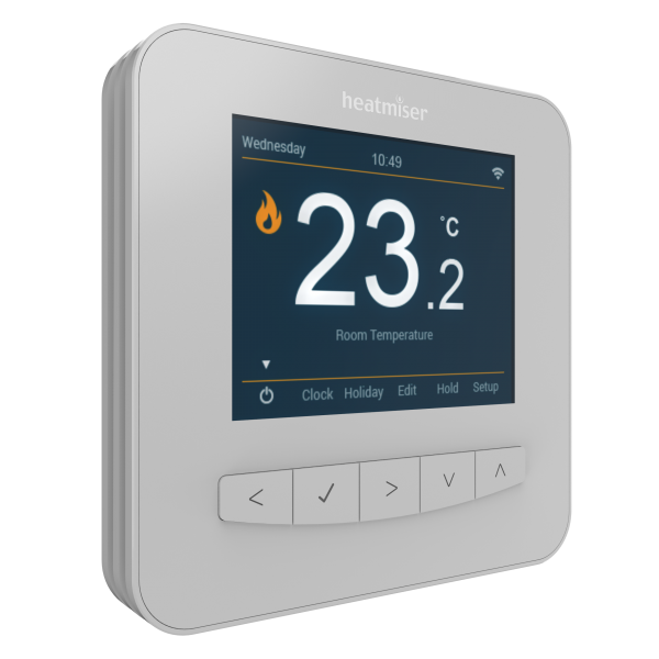 Heatmiser SmartStat - Smart Thermostat for use with your underfloor heating system