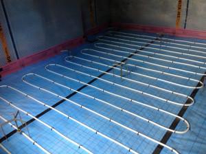 underfloor heating installation provide efficient heat
