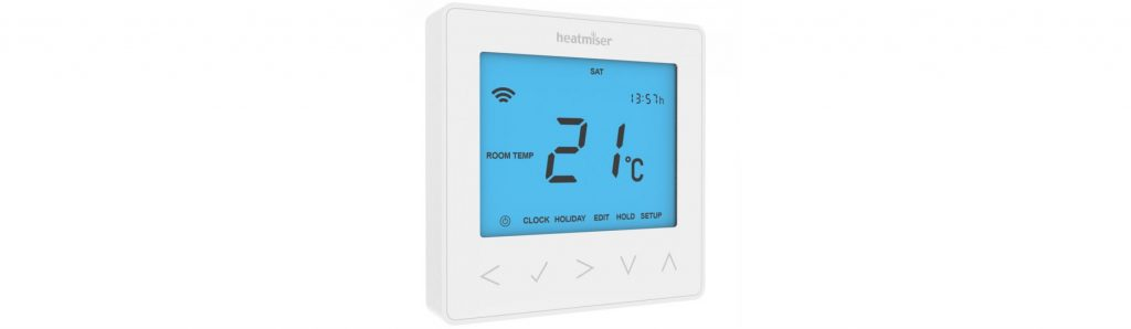 Smartphone Underfloor Heating with a Wireless Thermostat