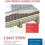 UK Underfloor Heating Leaflet