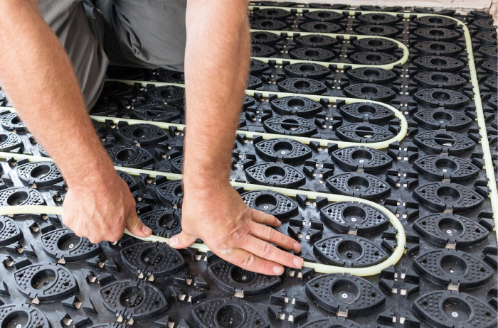 underfloor heating for businesses/commercial properties