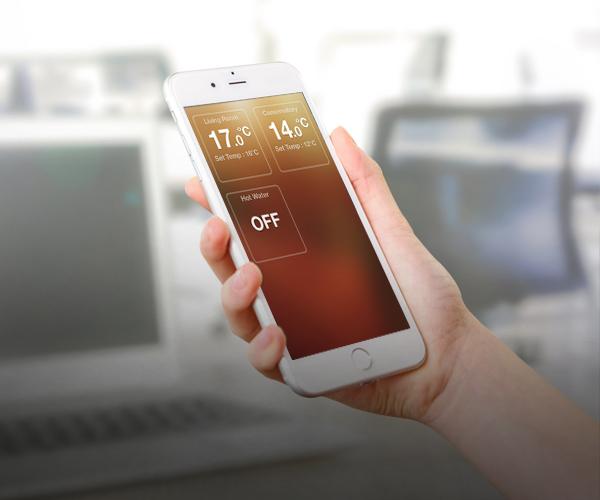 Underfloor Heating Smartphone Controls