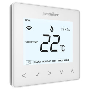 Heatmiser NeoAir wireless underfloor heating thermostat
