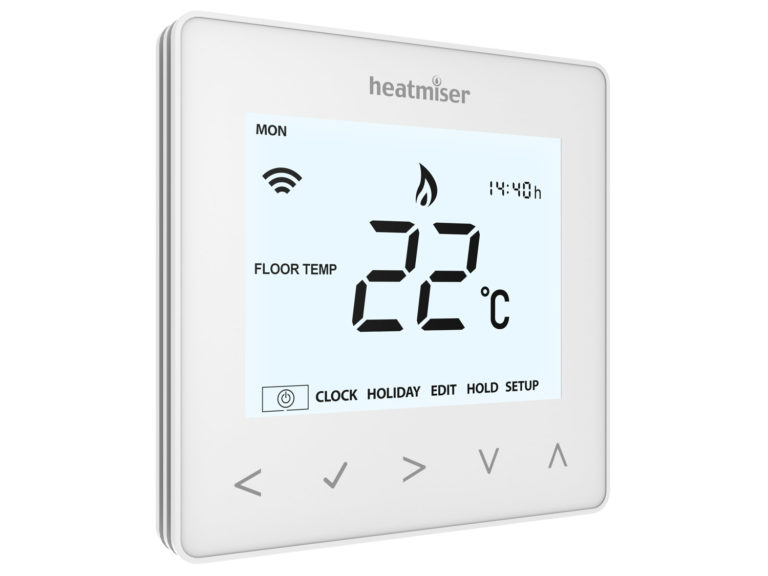 Heatmiser NeoAir - Wireless thermostat for controlling underfloor heating systems