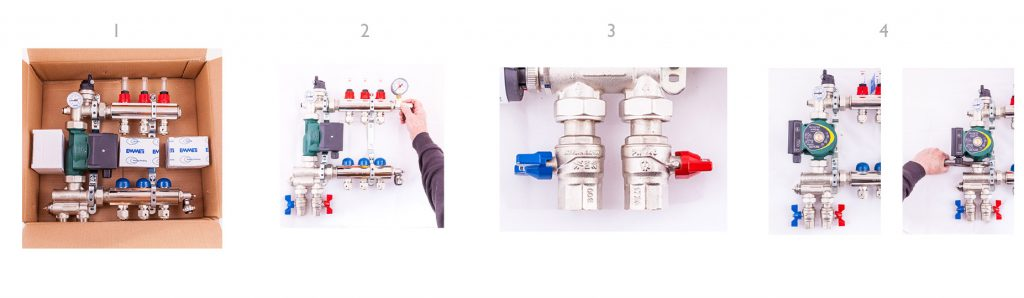 How to build an Underfloor Heating Manifold Instructions