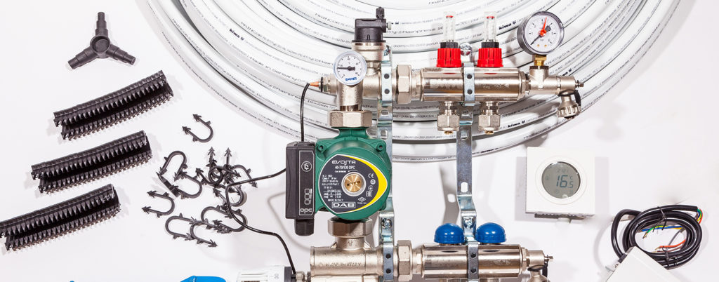 Water underfloor heating system vs electric underfloor heating mats