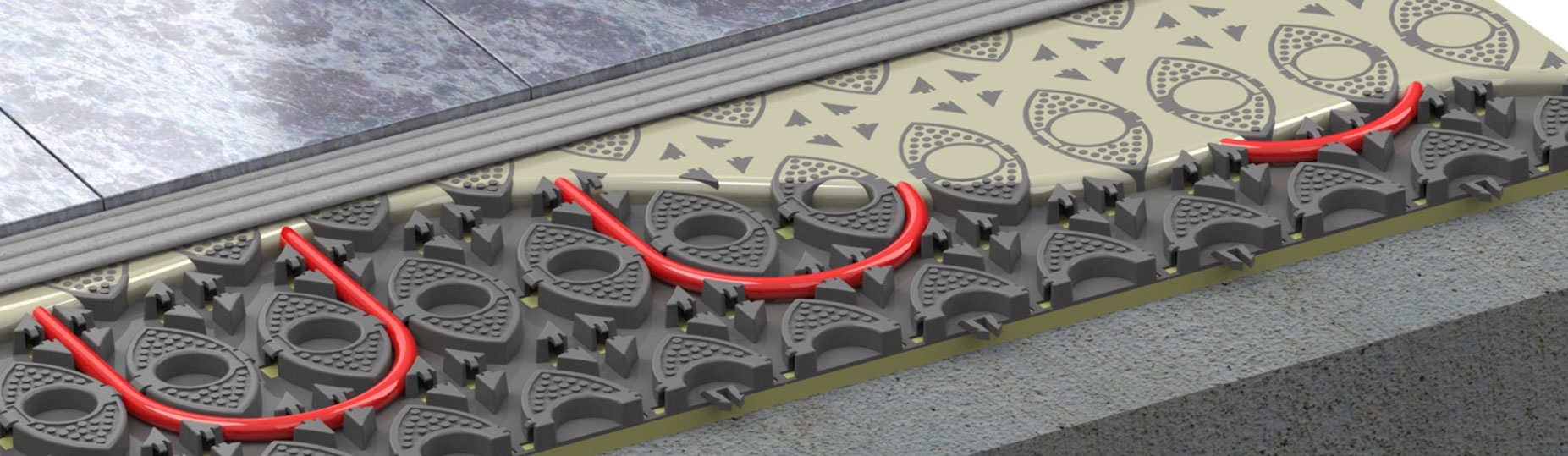 Low Profile Profix Underfloor Heating