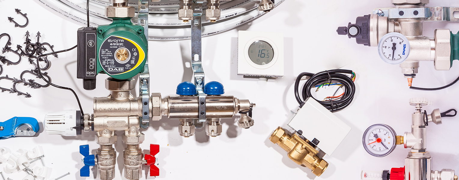 Replacement parts for Underfloor Heating Systems