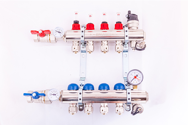 2-12 Port Multi Zone Heat Pump/ Radiator Manifold Bodies